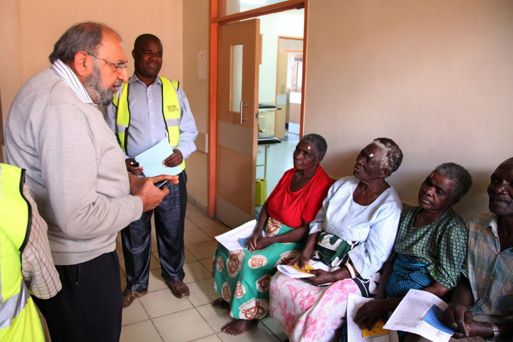 Gif Of Sight. Cataract operations by Malawi Relief Fund UK